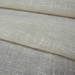 Bleached 100% Linen Fabric...